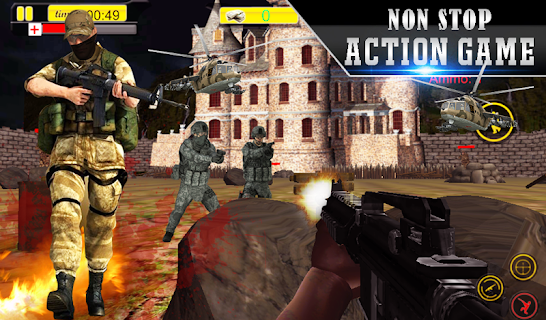 Lone Sniper Army Shooter 3D screenshot 00