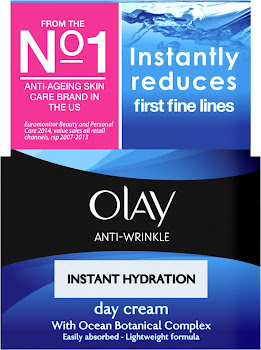 Olay Anti-Wrinkle Instant Hydration Anti - Ageing Day Moisturiser - 50ml