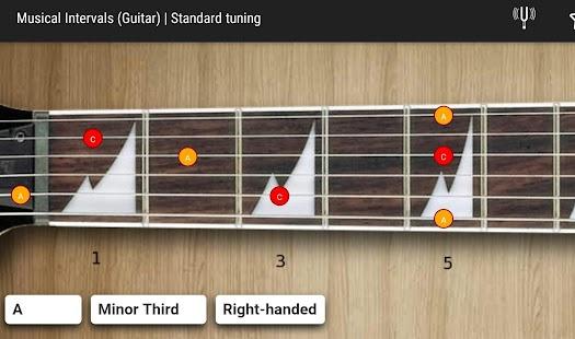 GuitarIntervals - náhled