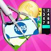 griffe d'argent et jeu de machine distributrice