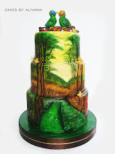 Photo: FOREST by Cakes by Alyanna (9/28/2012) View cake details here: http://cakesdecor.com/cakes/30410