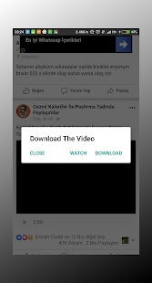 FB Video Download Manager - náhled