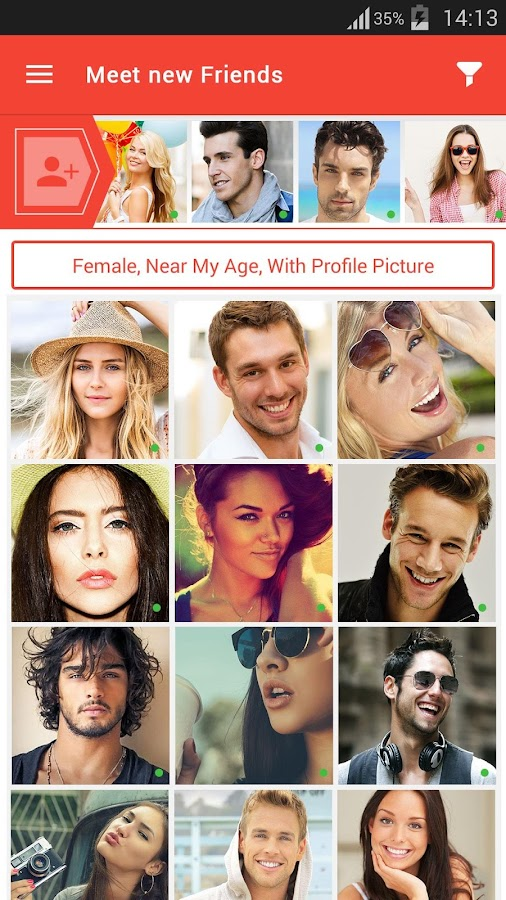 Flirt dating and match app