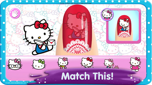 Hello Kitty Nail Salon screenshot 3