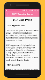 Learn PHP and MySQL Tutorials Special Course Screenshot