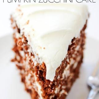 Chocolate Pumpkin Zucchini Cake
