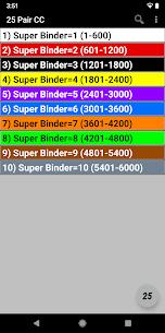 25 Pair Color Code Apk 1