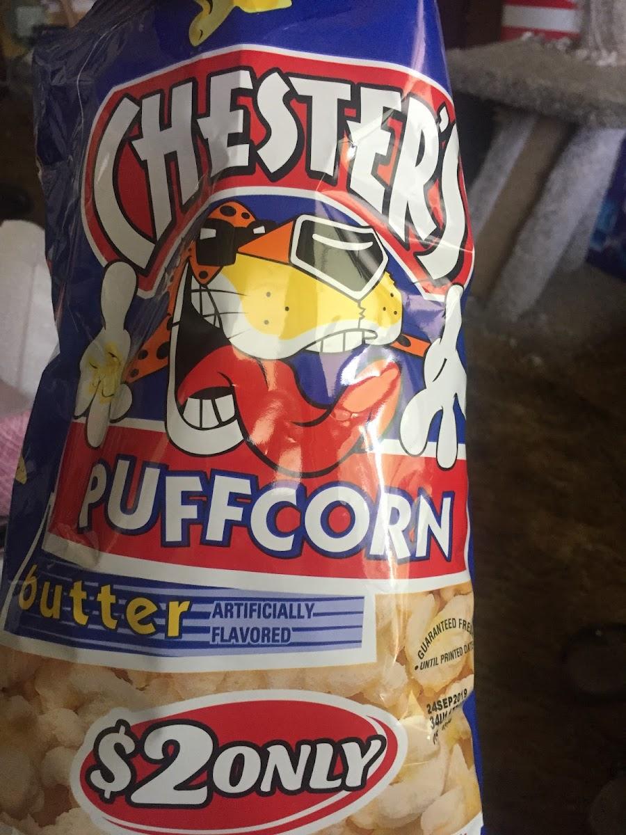 Chester's Puffcorn Butter