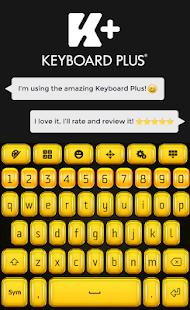 Zlatá klávesnice HD - náhled