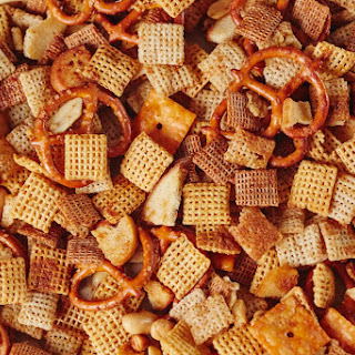 How To Make Slow-Cooker Chex Party Mix.