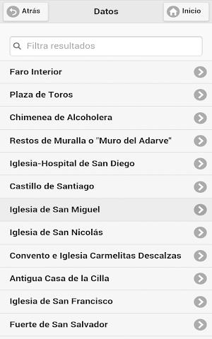 android Movilidad Sanlúcar de Bda. Screenshot 9