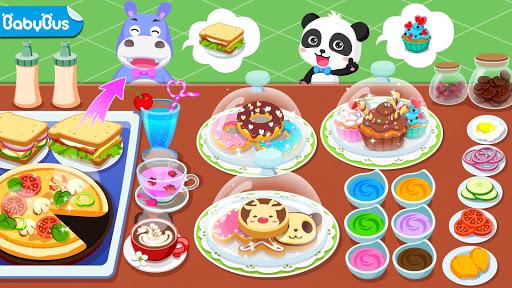 Verão do Bebê Panda: Cafeteria screenshot 1