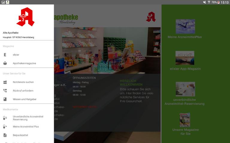 android Alte Apotheke Heroldsberg Screenshot 5