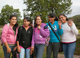 Photo: high school students