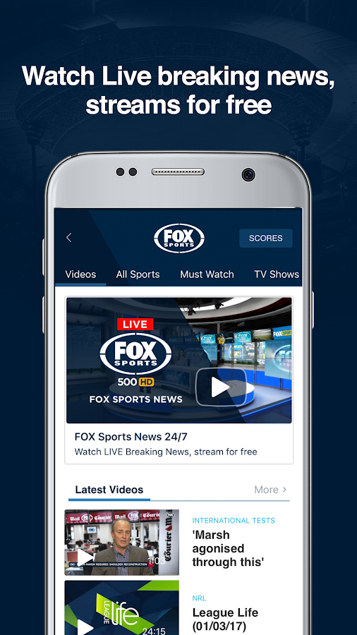 how to watch live streaming nrl