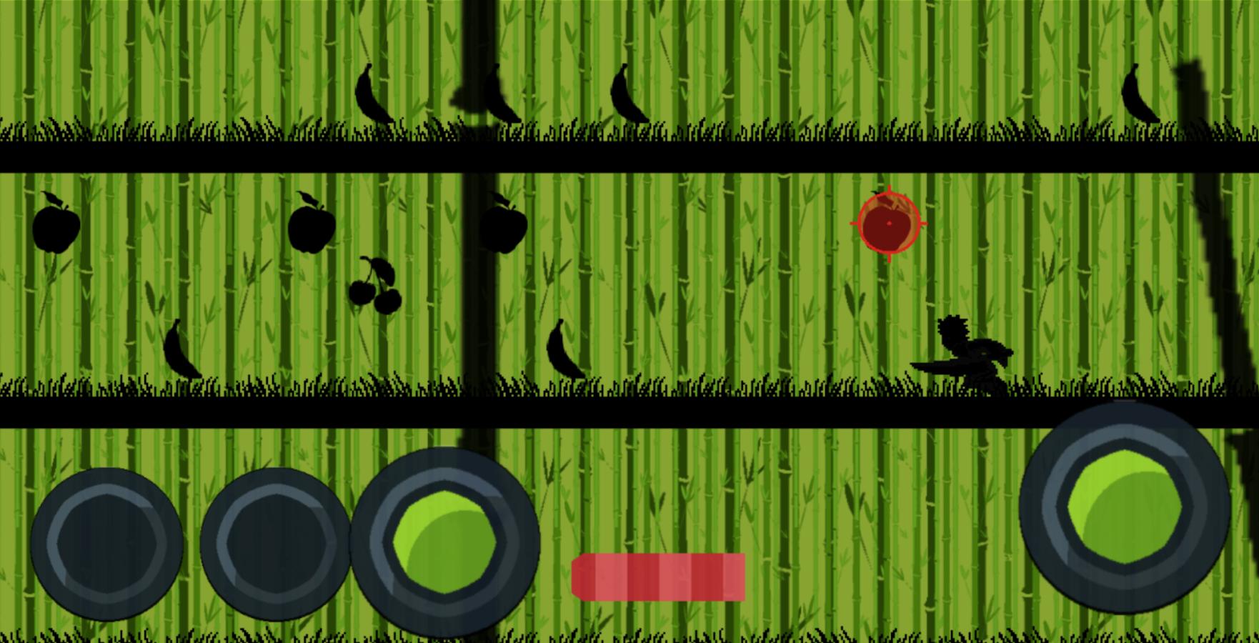 Ninja fruit cut - Ninja Fruit Run Endless Runner Screenshot