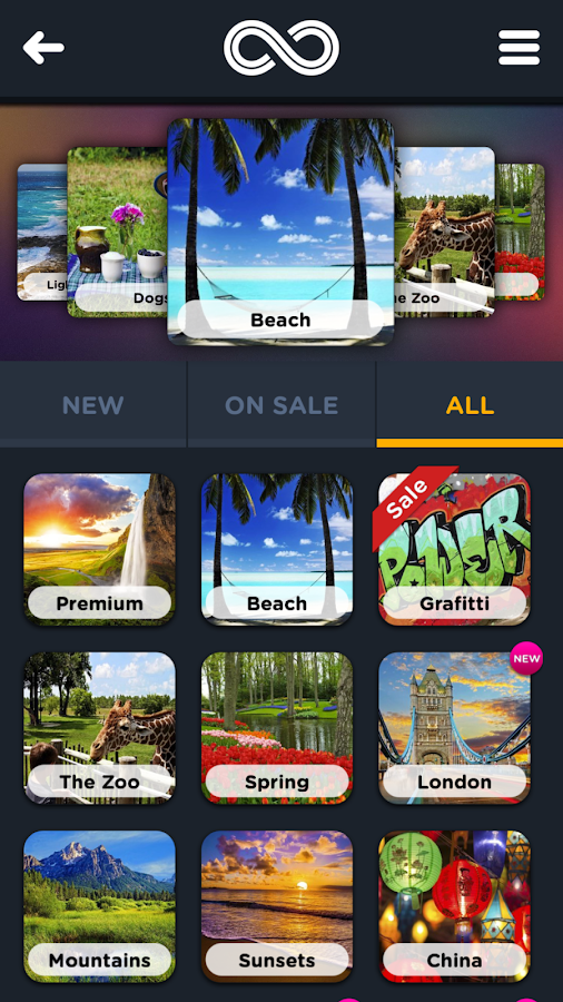 Infinite Jigsaw Puzzles- screenshot