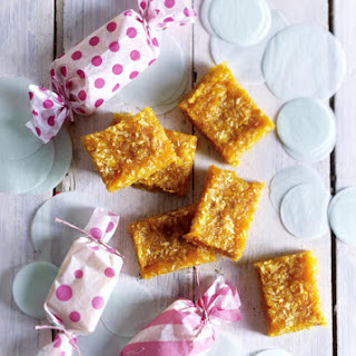 Apricot, Almond and Grapefruit Bars