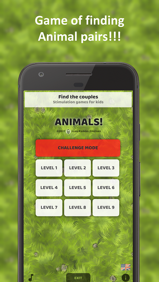 Find the couples for kids. Animals! #JRApp- screenshot