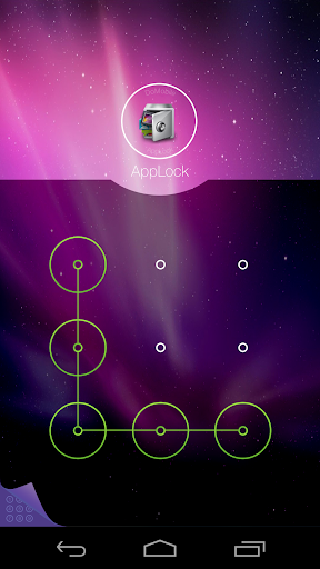AppLock Theme Aurora screenshot 2