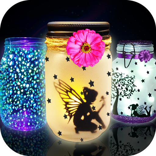Glow in The Dark Toys Game! Glowing fairy Jars (game)