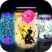 Glow in The Dark Toys Game! Glowing fairy Jars
