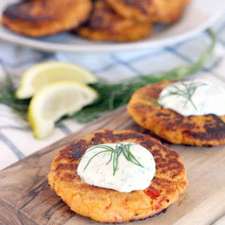 Paleo Tuna Croquettes with Lemon Dill Aoil