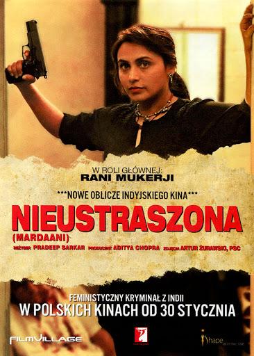 Przód ulotki filmu 'Nieustraszona'