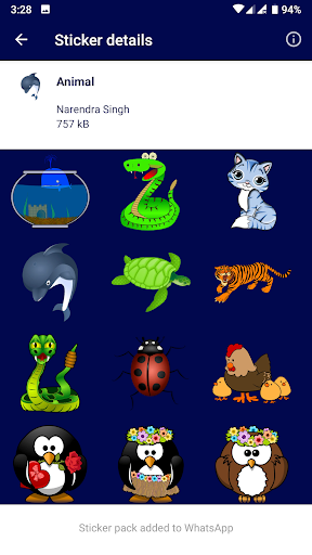 WAStickerApps - HD Stickers 1.2 screenshots 4