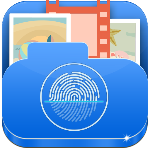 Fingerprint Gallery Vault Locker: Photo Video Hide