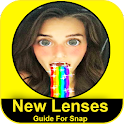 Guide lenses for snapchat icon