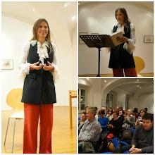 Photo: Zlato peresce, pripovedni večer z Ljobo Jenče, v Knjižnici Miklova hiša Ribnica. (Foto Helena Vičič)  https://www.youtube.com/watch?v=Jyly55KvIPE