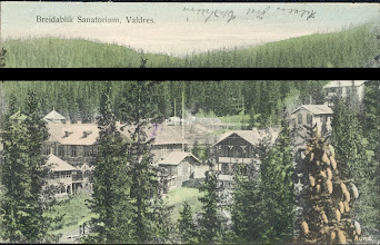 Photo: Breidablikk sanatorium i 1905