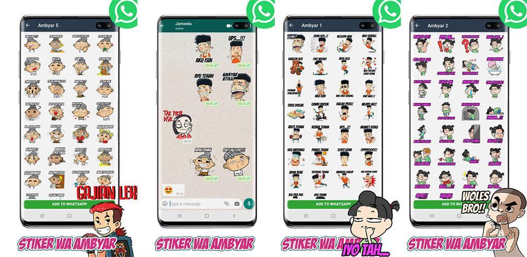 Telecharger Wastickerapps Sticker Wa Jawa Ambyar 1 0 Android Apk