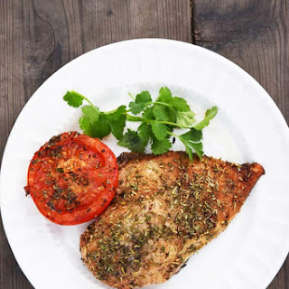 Clean Eating Roasted Balsamic Chicken And Tomatoes.