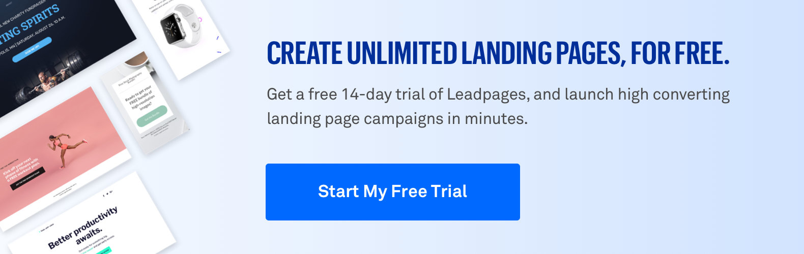 Leadpages free 14 day trial