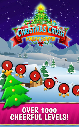 Christmas Crush Holiday Swapper Candy Match 3 Game 1.35 screenshots 6