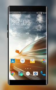 Theme for Panasonic Eluga Note Cars Wallpaper - náhled