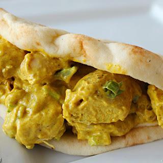 Curry Chicken Salad Sandwich.