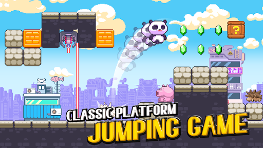 Panda Power - Super Panda Jump - screenshot
