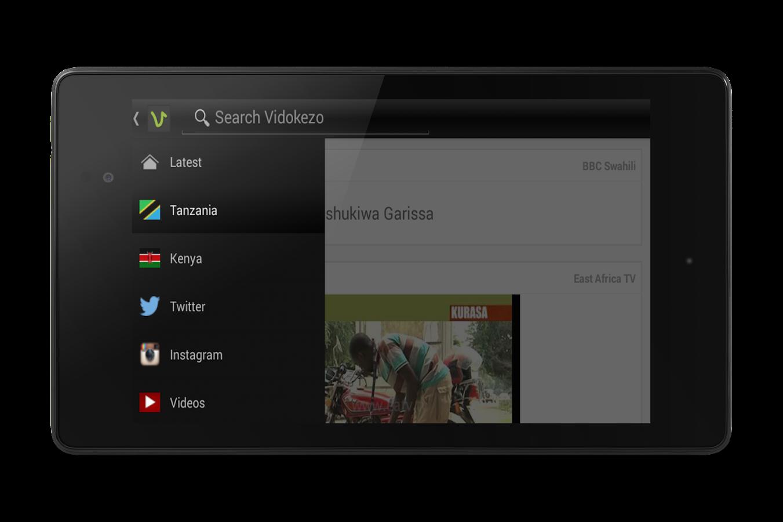 Vidokezo- screenshot