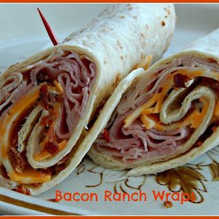 Bacon Ranch Wraps.