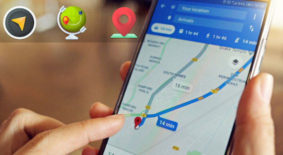 Download Maps Driving Directions:Voice GPS Navigation,Maps For PC Windows and Mac apk screenshot 3