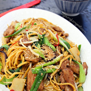 Chinese Chicken Chow Mein Bean Sprouts Recipes