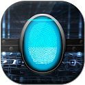 finger print screen lock prank icon