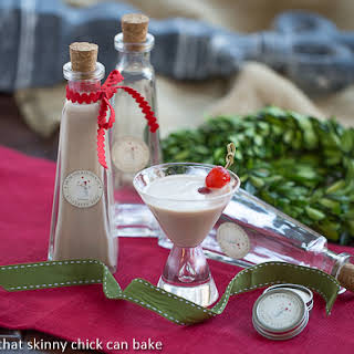 Homemade Baileys Irish Cream.