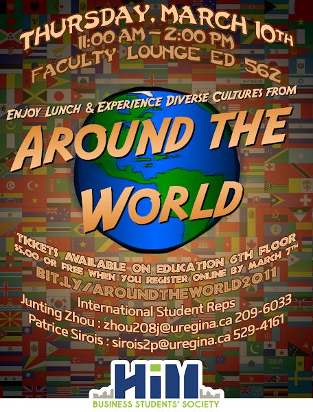 Photo: Around the World Poster 2011