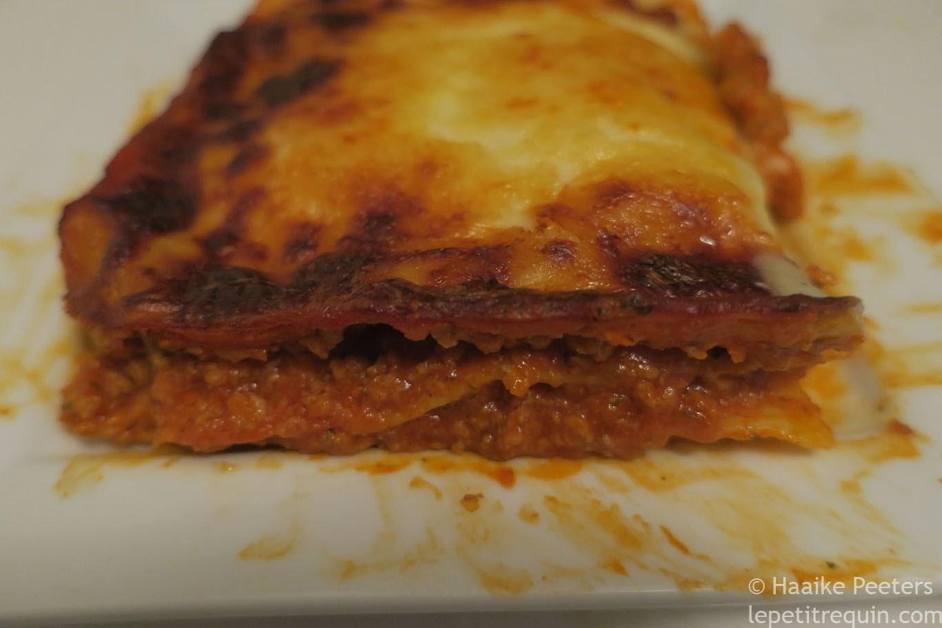 Lasagne bolognaise (Le petit requin)