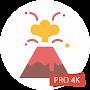 Volcano Wallpapers 4K PRO Lava Backgrounds временно бесплатно
