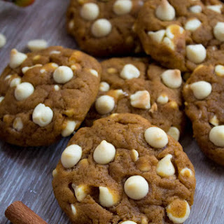 White Chocolate Chip Pumpkin Cookies Recipe